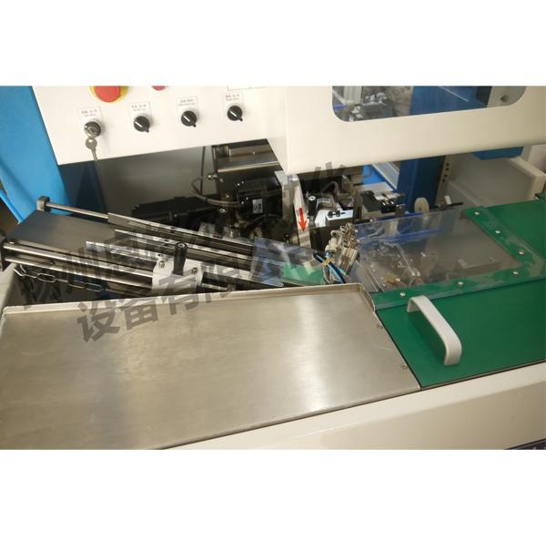 Toothbrush hair transplanting and feeding machine